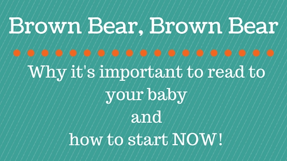 Reading with your baby blog graphic